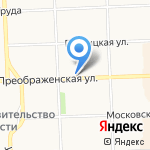 Интерсервис на карте Кирова