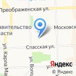 Управление вневедомственной охраны на карте Кирова