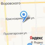 Комиссионный магазин кожи и меха на карте Кирова