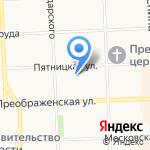 Адвокатский кабинет Бакина В.В. на карте Кирова
