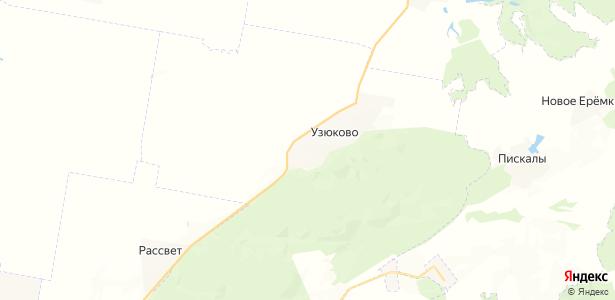 Узюково на карте