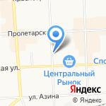 Лавашик на карте Кирова
