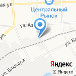 КВК на карте Кирова