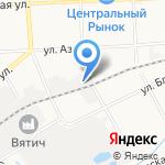 Золотая леди на карте Кирова