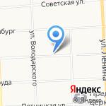 Моя стоматология на карте Кирова