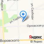 Детский сад №90 на карте Кирова