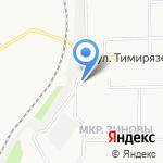 Юный спартаковец на карте Кирова