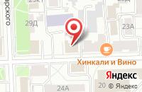 Схема проезда до компании Фармакон в Ильинском