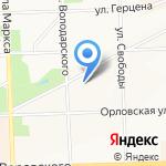 Банк ФК Открытие на карте Кирова