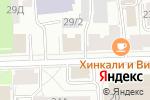 Схема проезда до компании Управление Федеральной службы государственной регистрации в Кирове