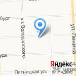 Старый дворик на карте Кирова