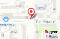 Схема проезда до компании Алмаз Лес в Кирове