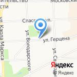 Алмис на карте Кирова