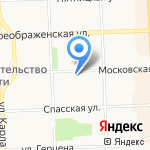 Вектор на карте Кирова
