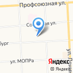 Детская поликлиника №1 на карте Кирова