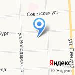 Школа для обучающихся с ограниченными возможностями здоровья №13 на карте Кирова