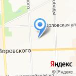 Бухгалтер и Я на карте Кирова