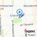 Инжектор-сервис на карте Кирова