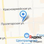 Детская поликлиника №3 на карте Кирова