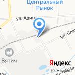 Всероссийское добровольное пожарное общество на карте Кирова