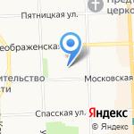 Кировская фармацевтическая фабрика на карте Кирова