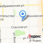 Детский сад №70 на карте Кирова