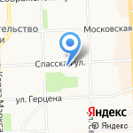 Аналитик на карте Кирова