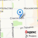 Работа для Вас на карте Кирова