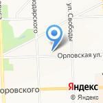 Штурвал на карте Кирова