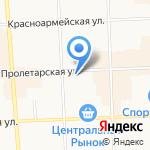 Киоск по продаже CD на карте Кирова