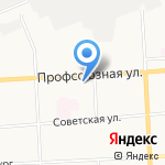 Домашний очаг на карте Кирова