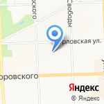 Тонап-БИС на карте Кирова
