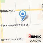 Умница на карте Кирова