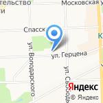Рекламное агентство на карте Кирова