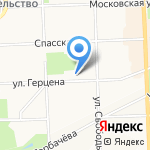 Либерти на карте Кирова