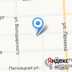 На Мопра на карте Кирова