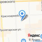 Поликлиника №6 на карте Кирова