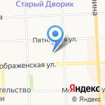 Базис на карте Кирова