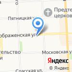 СЛУЖБА F-1 на карте Кирова