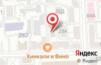 Схема проезда до компании Творческая мансарда в Кирове