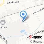 Планета Свет на карте Кирова