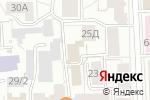Схема проезда до компании Камоцци Пневматика в Кирове