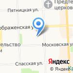 Ажур на карте Кирова