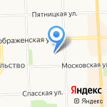 РиэлтИнвест на карте Кирова
