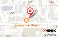 Схема проезда до компании Пятерочка в Ильинском