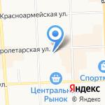 Конкурент на карте Кирова