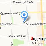 АльфаСтрахование на карте Кирова