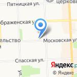 Александра на карте Кирова