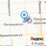 ВСК на карте Кирова