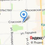 Студия причесок на карте Кирова